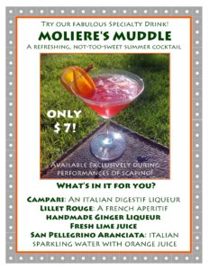 Moliere's Muddle poster with white background jpeg